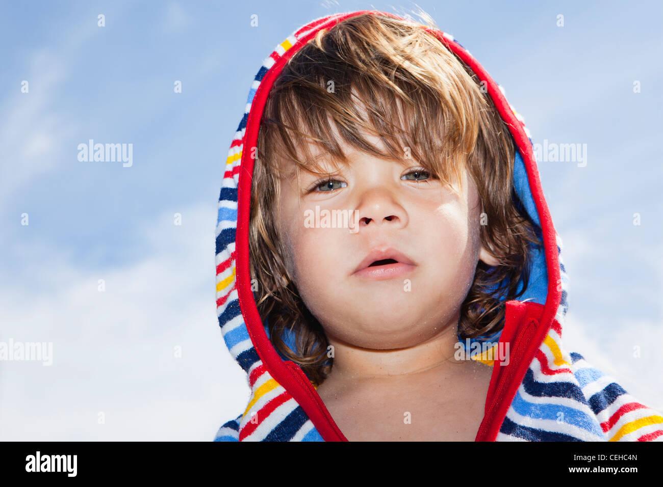 Outdoor Ritratto di bambino Immagini Stock