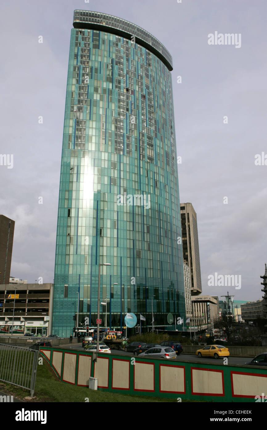 Radisson Blu grattacielo birmingham Immagini Stock