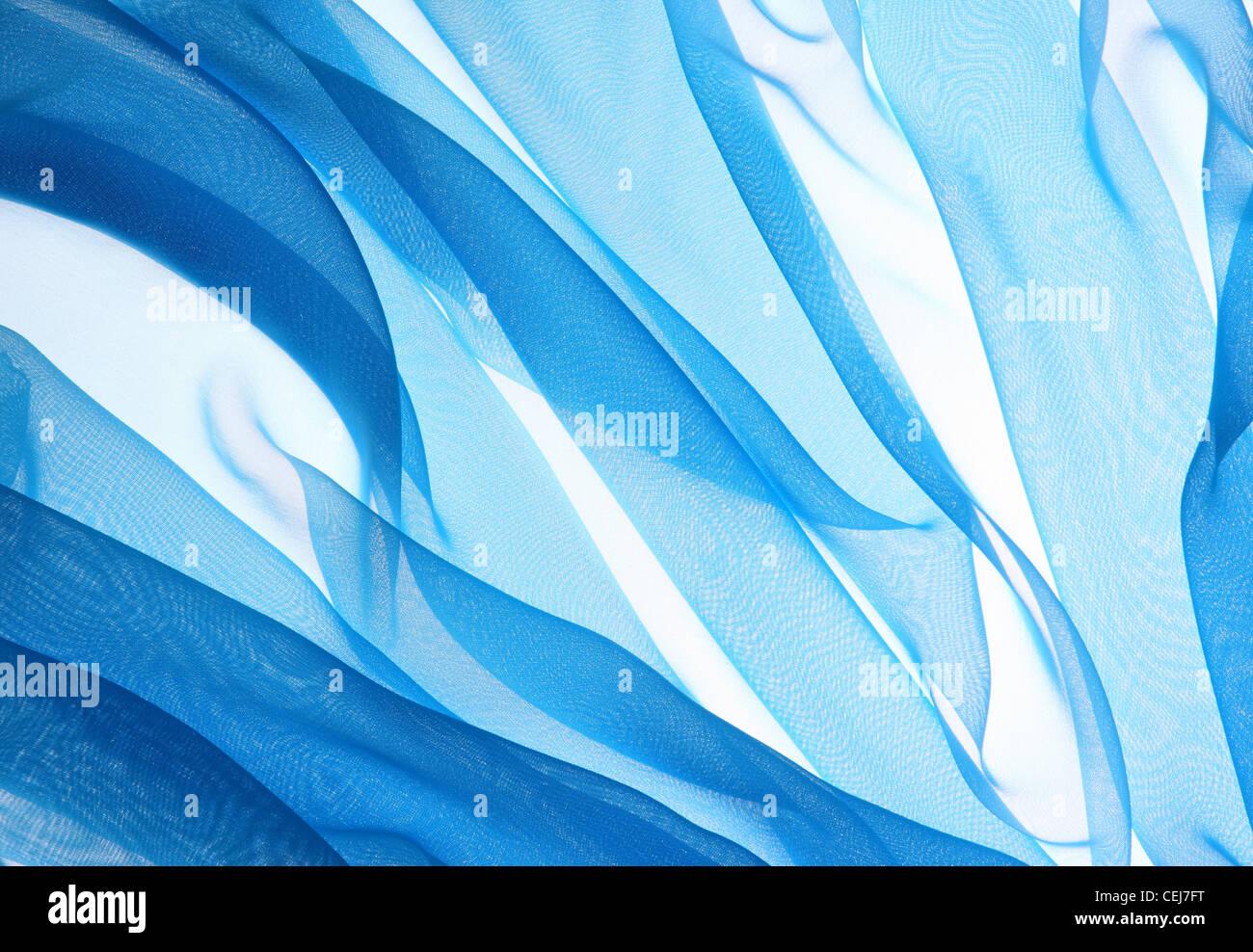 Abstract soft texture in chiffon sfondo Immagini Stock
