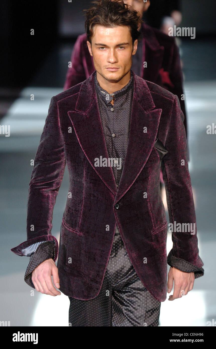 best sneakers 29983 1b78c Giorgio Armani Milano Menswear pronto a indossare in autunno ...