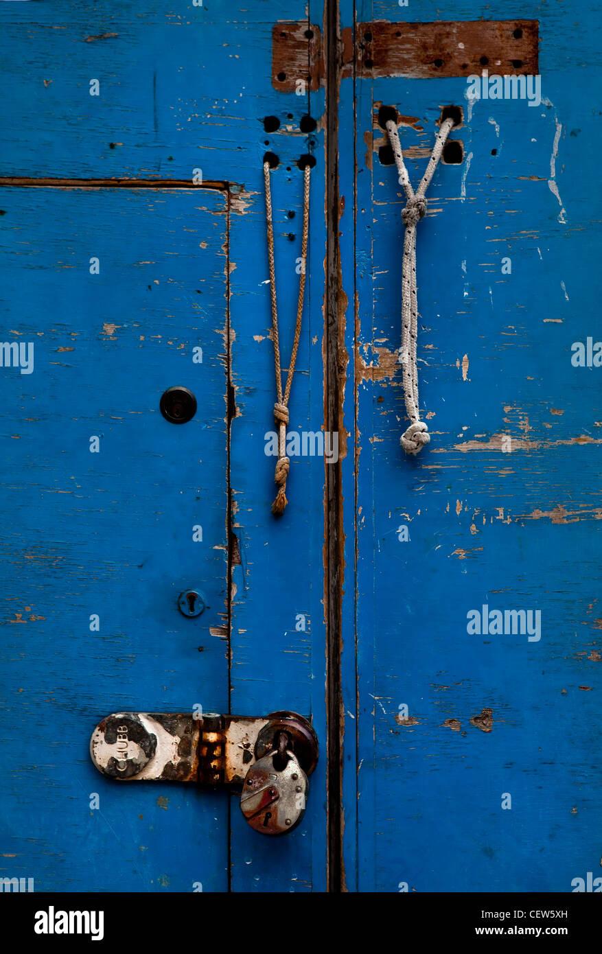 Il Blue Door, Hackney Wick, Londra Immagini Stock