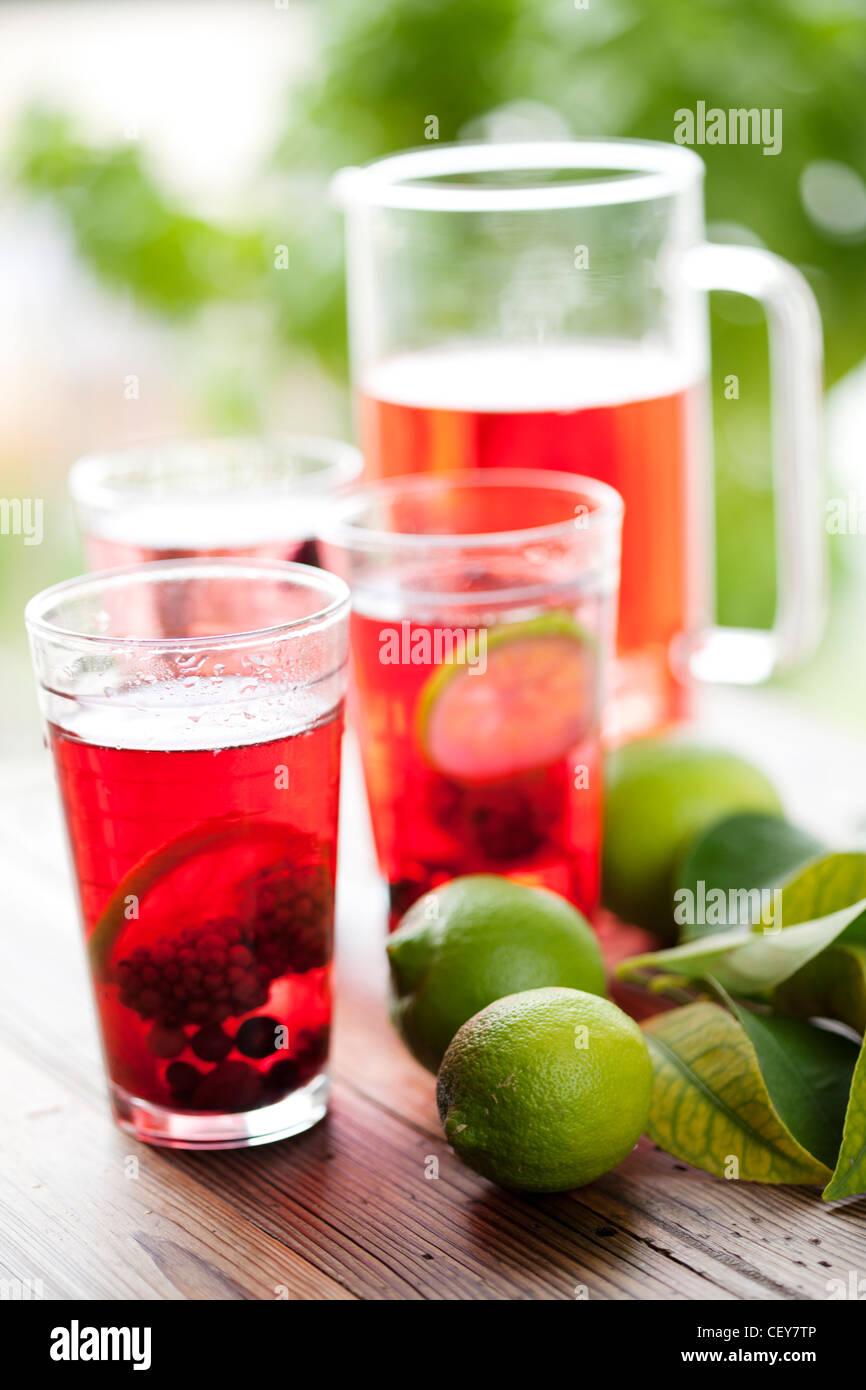 punch di frutta Immagini Stock