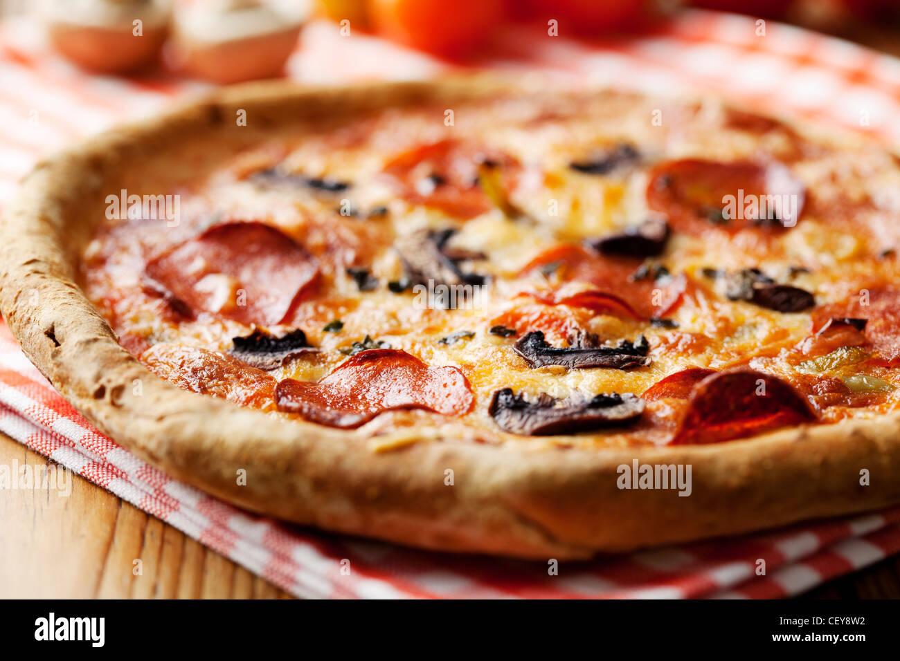 Pizza Immagini Stock