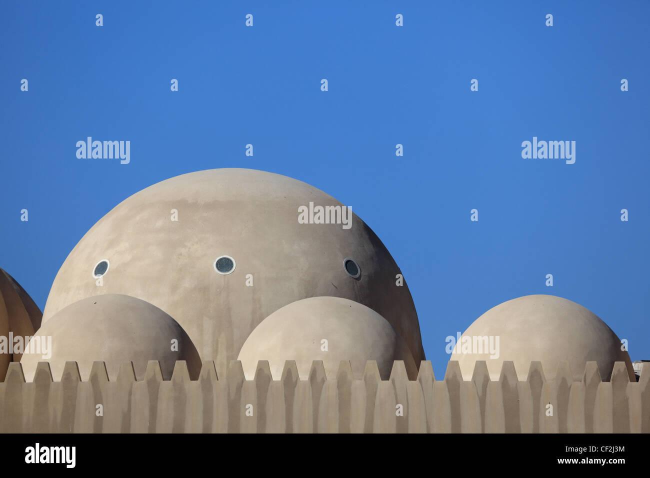 Architettura islamica in Dubai Emirati Arabi Uniti Immagini Stock
