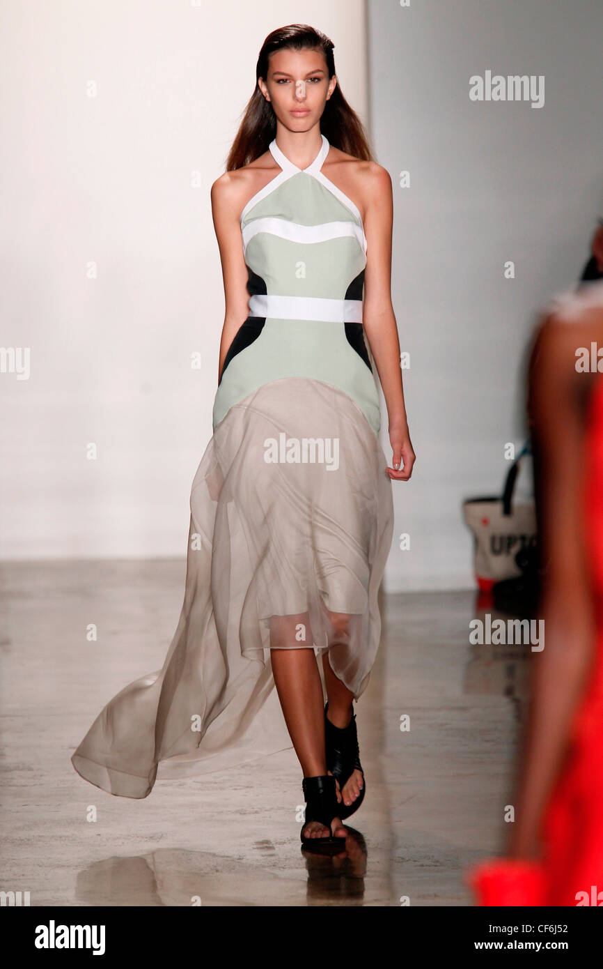 Ohne Titel New York pronto a WearSpringSummer 2012 Immagini Stock
