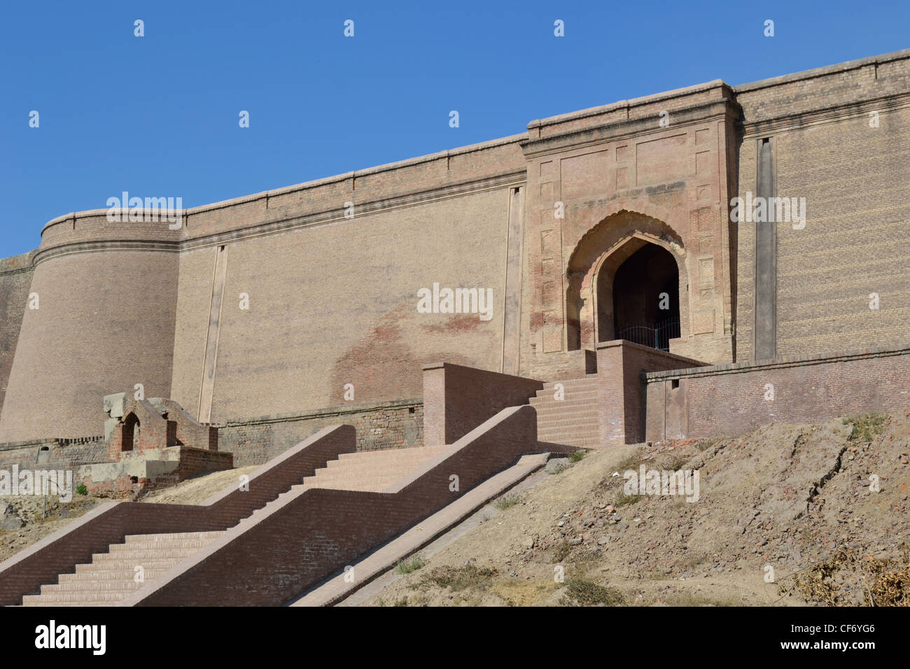 Fort Bhatinda architettura Rajput Immagini Stock