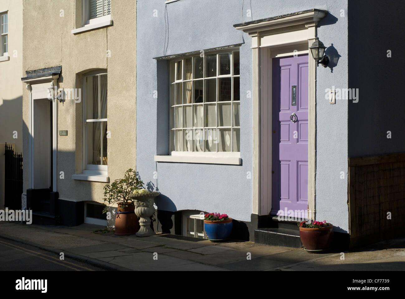 Casa in trattativa, Kent, England, Regno Unito Immagini Stock