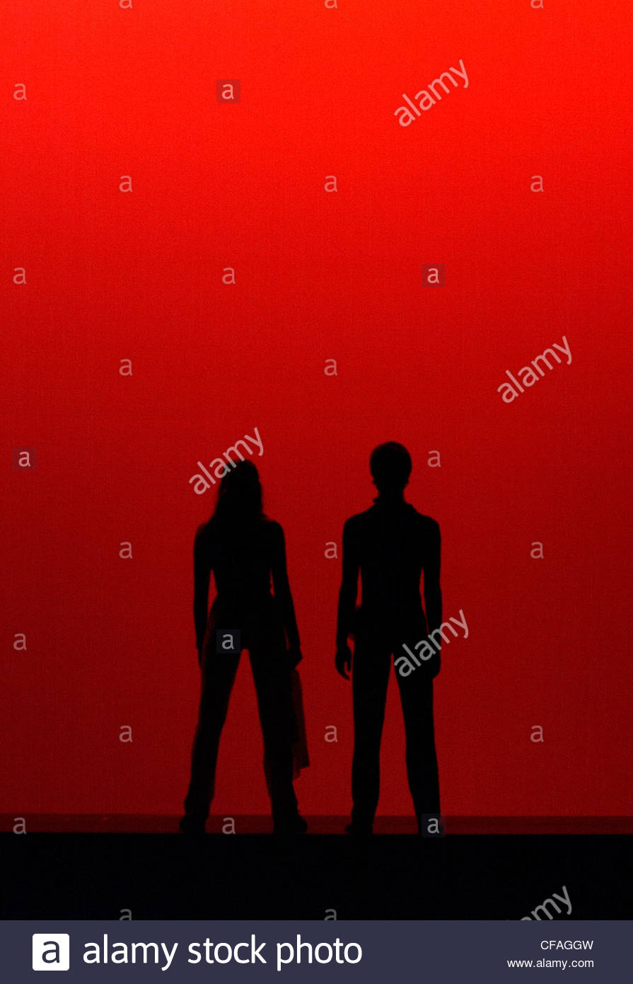 giovane ebano fidanzata