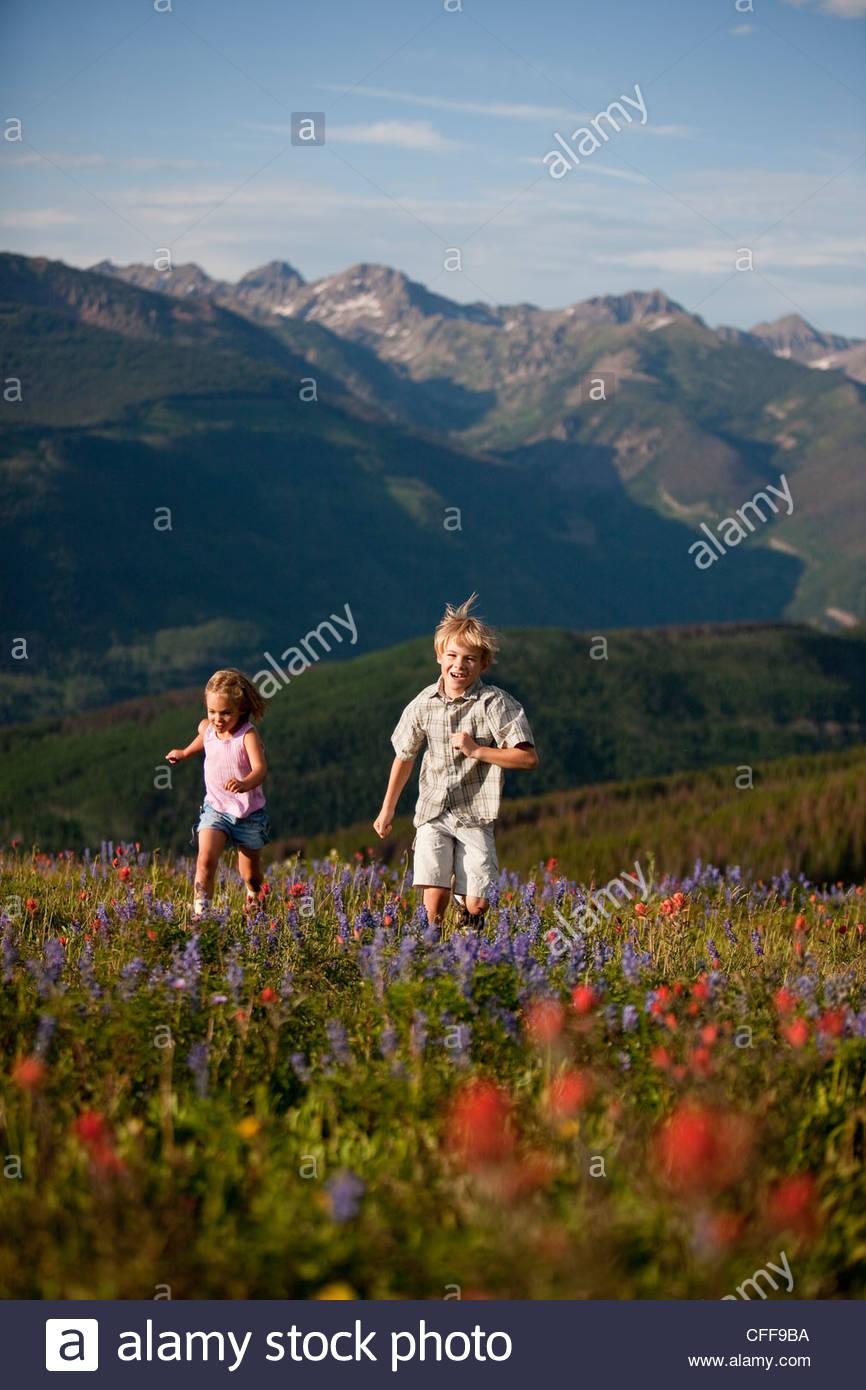 Escursioni per famiglie Immagini Stock
