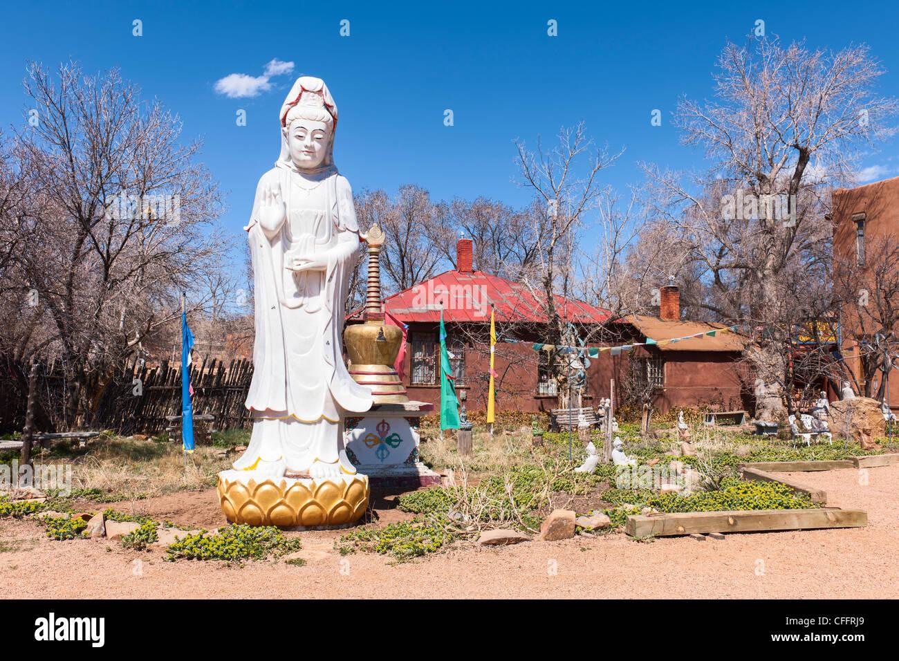 Shangri La Progetto Tibet, Santa Fe Immagini Stock