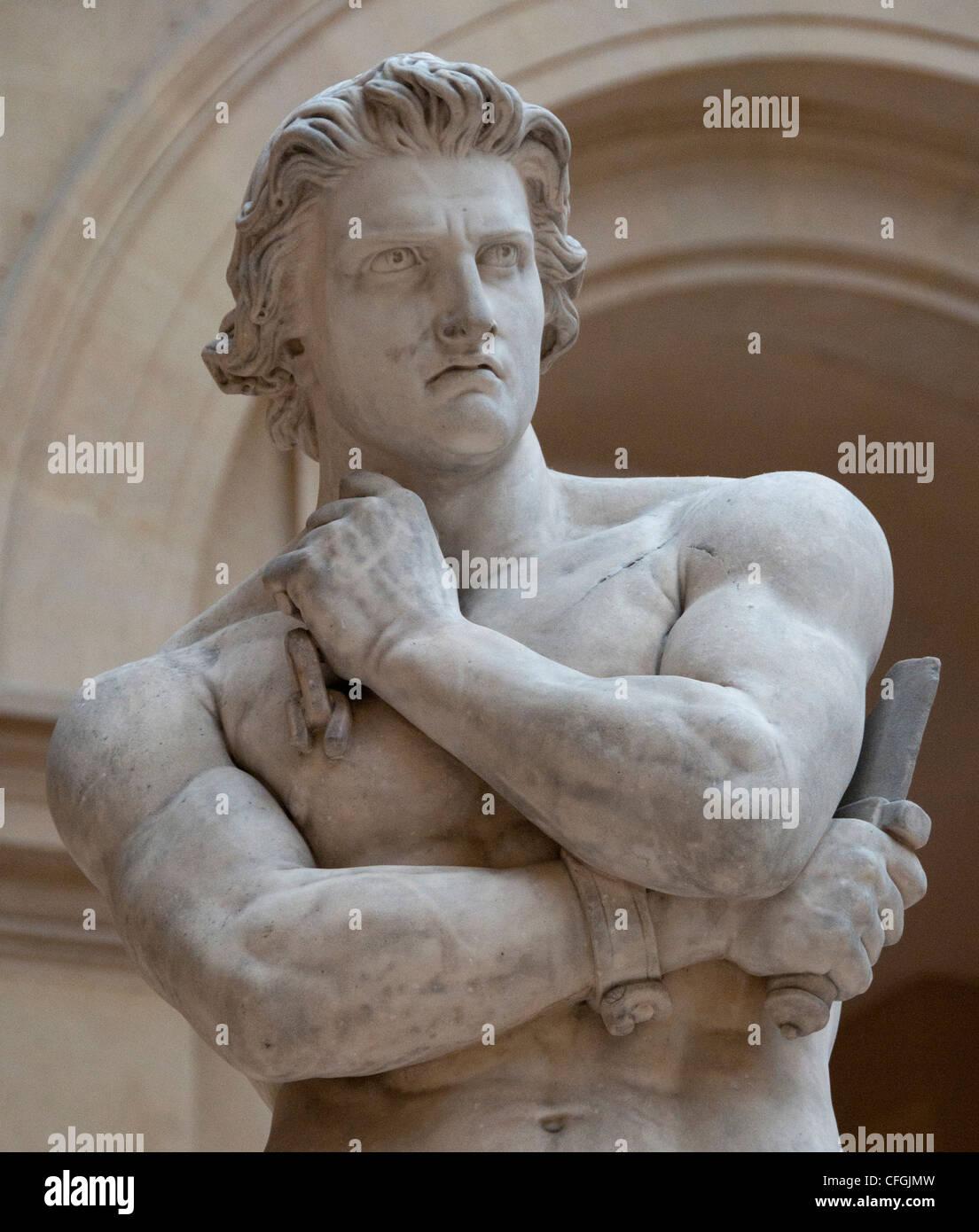 Spartaco Gladiatore Ribelle Ha Sollevato Un Esercito Di Schiavi Contro Roma  1830 Da Denis Foyatier Francia   Francese