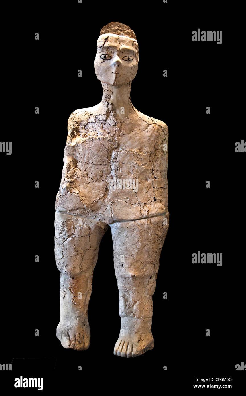 Ain Ghazal Neolitico Giordania Amman 7250 - 5000 BC Immagini Stock