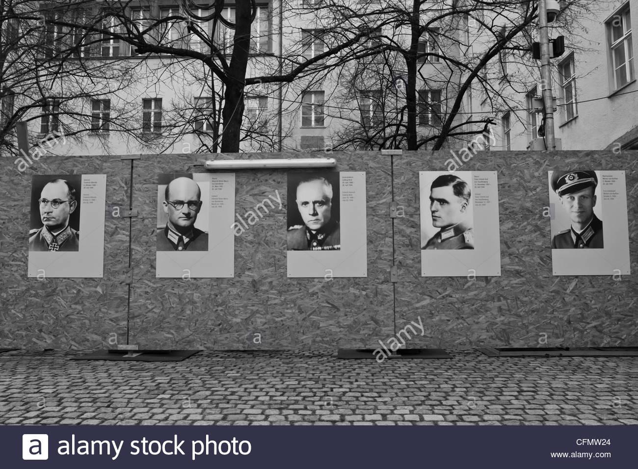 Resistenza tedesca Immagini Stock