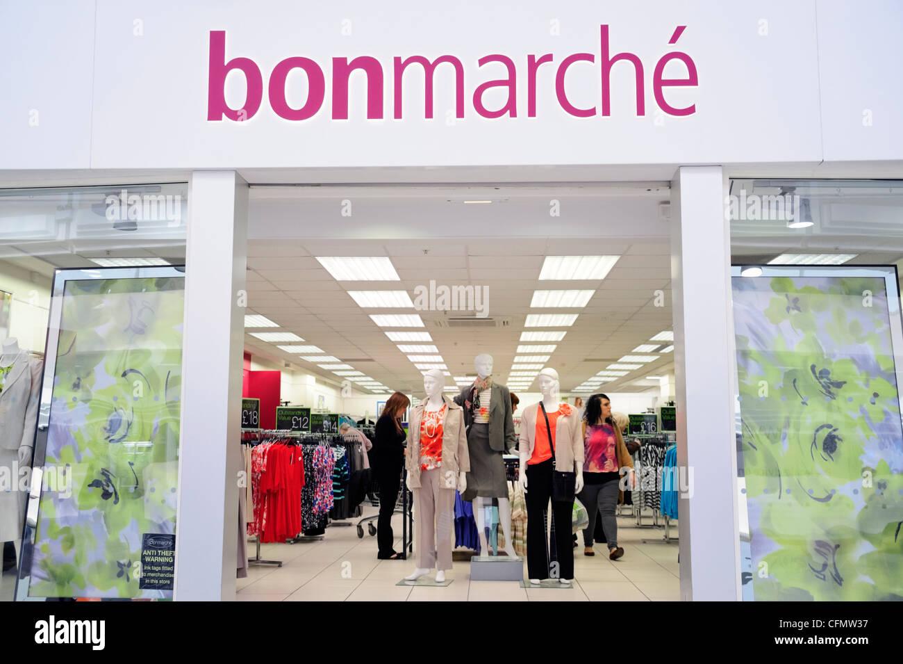 Bonmarche shop a Merry Hill shopping centre, West Midlands, Regno Unito. Immagini Stock