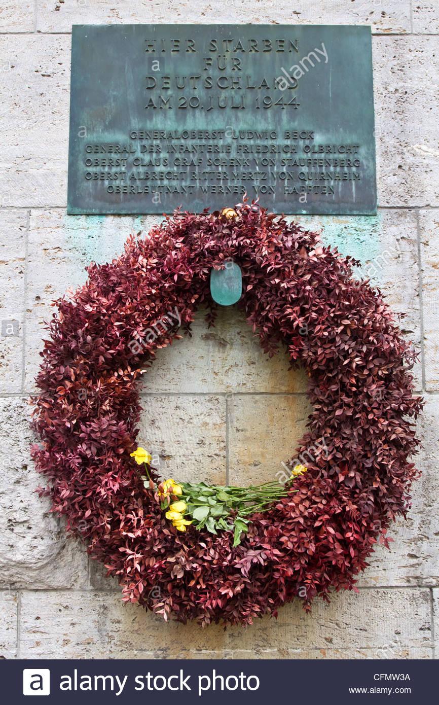 Monumento alla Resistenza tedesca Immagini Stock