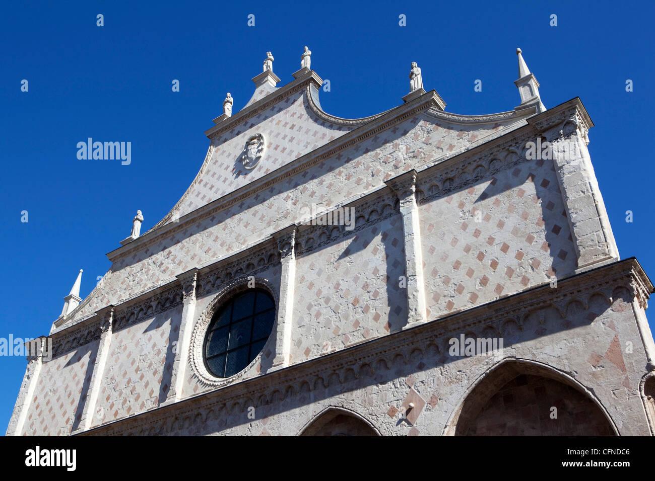 La chiesa di San Corona, Vicenza, Veneto, Italia, Europa Immagini Stock
