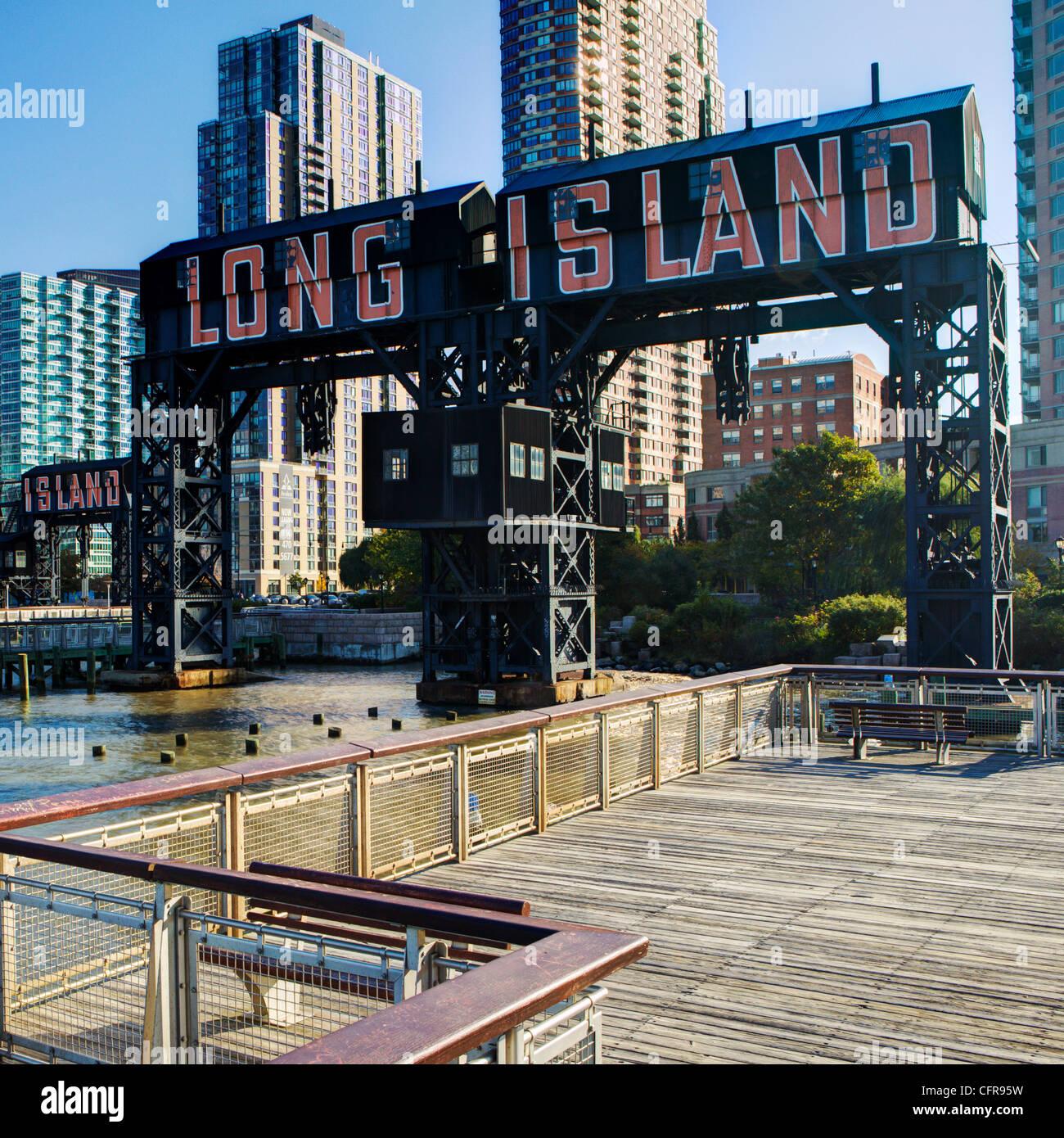 Long Island, Queens, a New York City, New York, Stati Uniti d'America, America del Nord Foto Stock