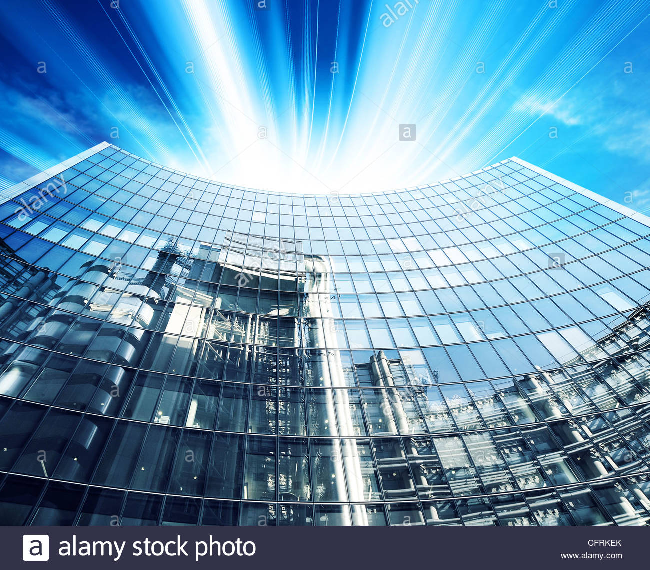 Corporate ufficio moderno Immagini Stock