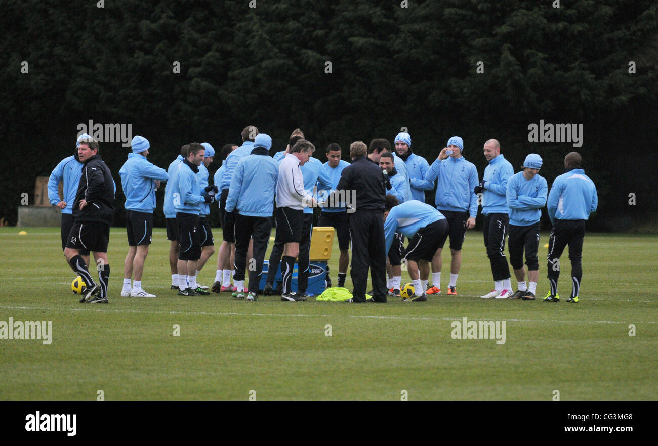 Allenamento calcio Tottenham Hotspur ufficiale