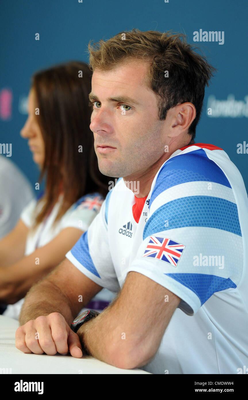 Nick Dempsey, windsurf Nick Dempsey Immagini Stock
