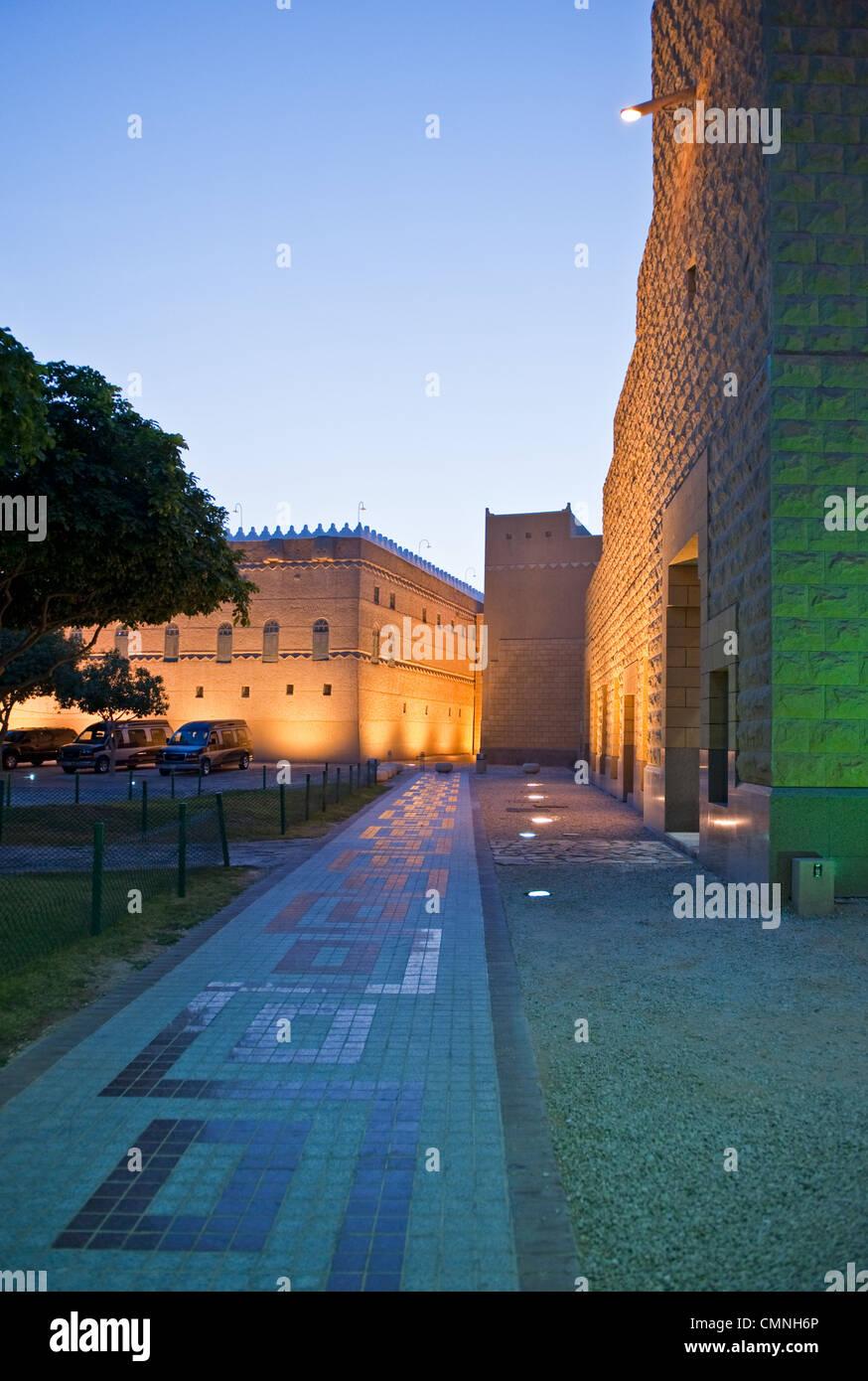 Asia Arabia Saudita Riyadh Murabba Palace Immagini Stock
