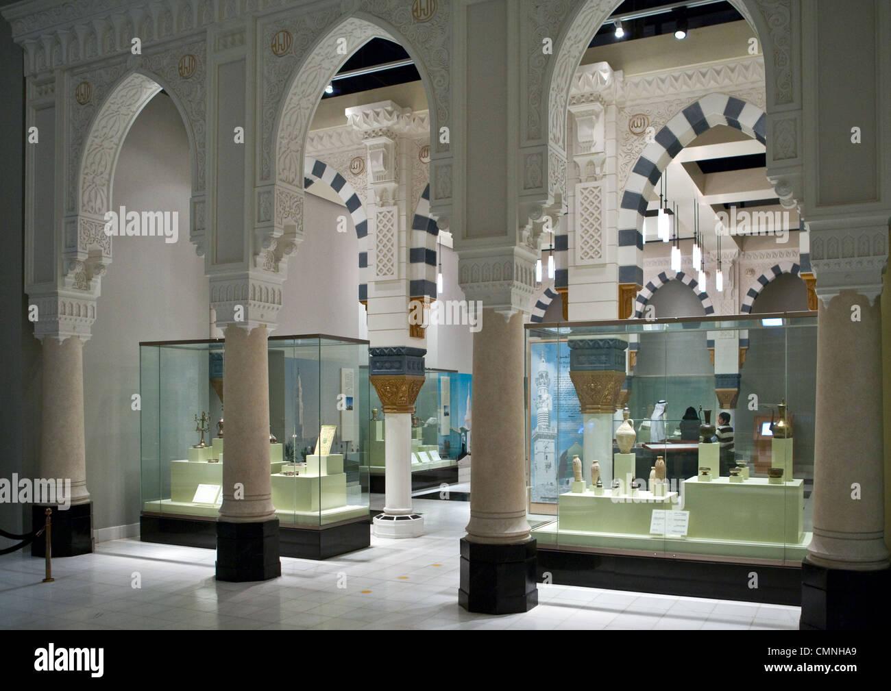 Asia Arabia Saudita Riyadh il museo nazionale Immagini Stock