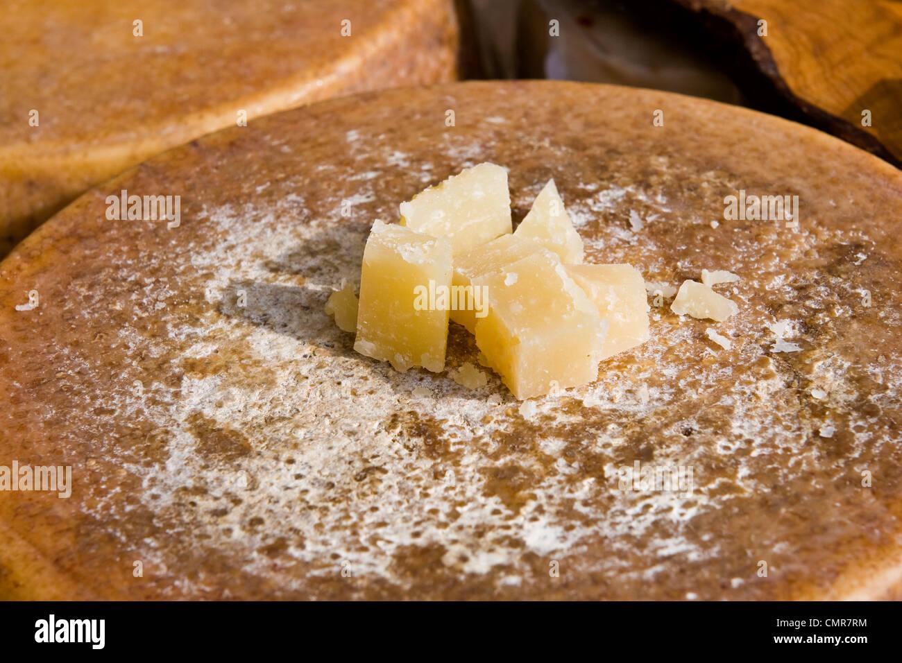 Parmigiano reggiano Immagini Stock