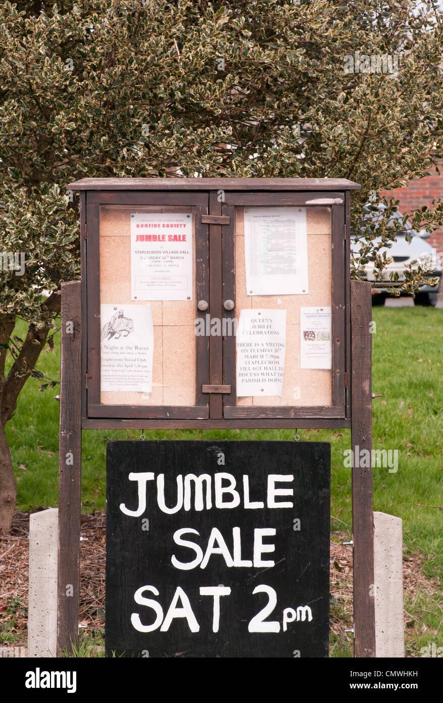 Accozzaglia vendita segno REGNO UNITO Immagini Stock