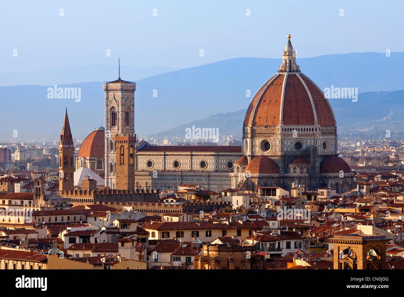 Firenze, il Duomo di Santa Maria del Fiore Immagini Stock