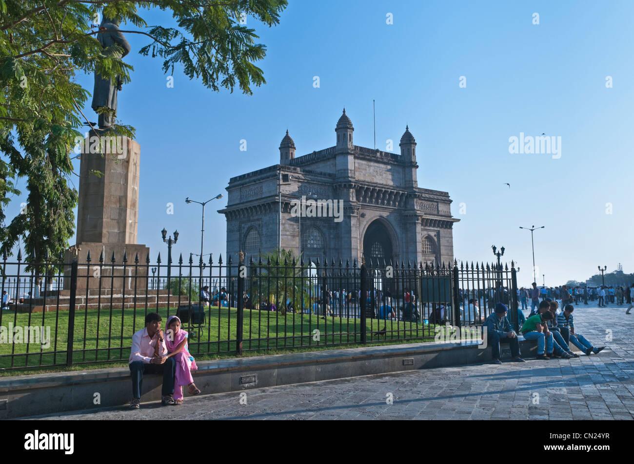 Gateway of India Mumbai Bombay in India Immagini Stock