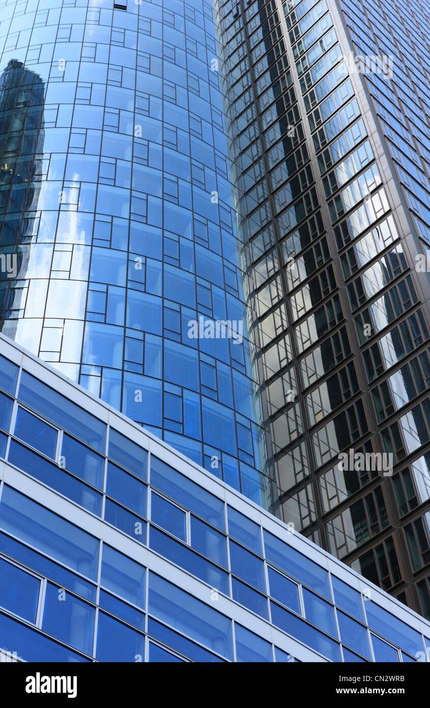 Edifici moderni, Francoforte, Germania Immagini Stock