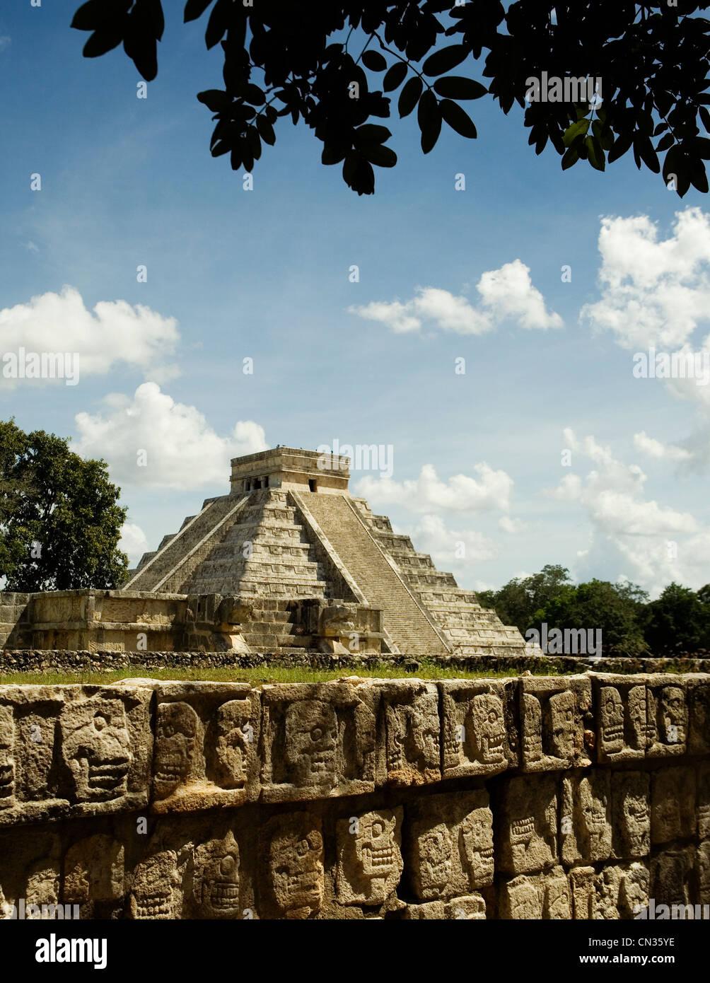 Chichen Itza, Messico Immagini Stock