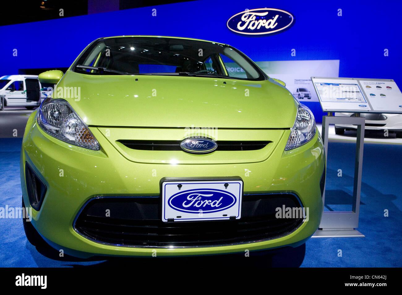 Una Ford Focus al 2012 Washington Auto Show. Immagini Stock
