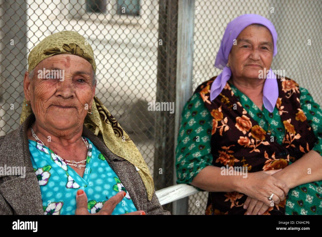 Onorevoli tradizionale in Samarcanda, Uzbekistan Immagini Stock