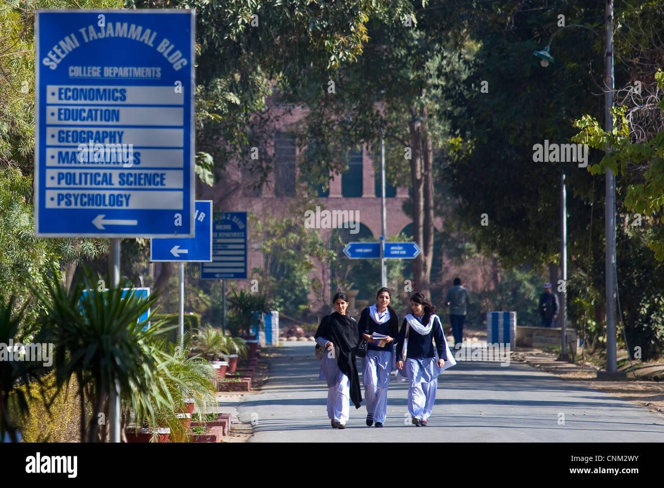 FCC Forman Christian College, Lahore, Pakistan Foto Stock