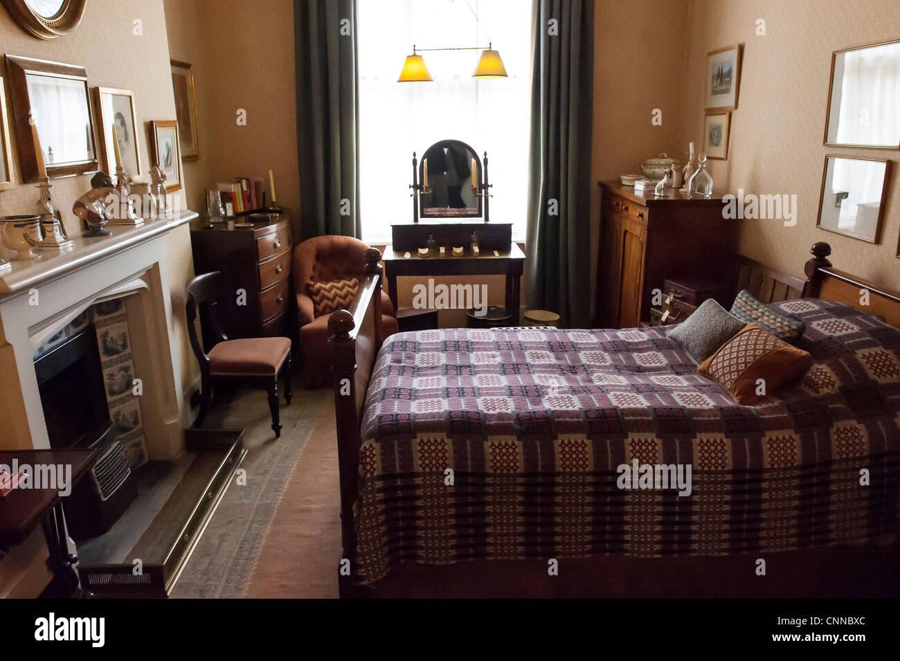 Camera Matrimoniale Stile Inglese.Camera Da Letto In Stile Victoria Casa Inglese Foto Immagine Stock