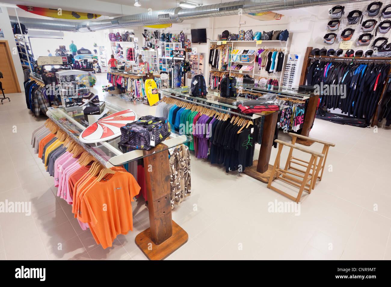 Shop a Tarifa, Cadice, Andalusia, Spagna. Immagini Stock