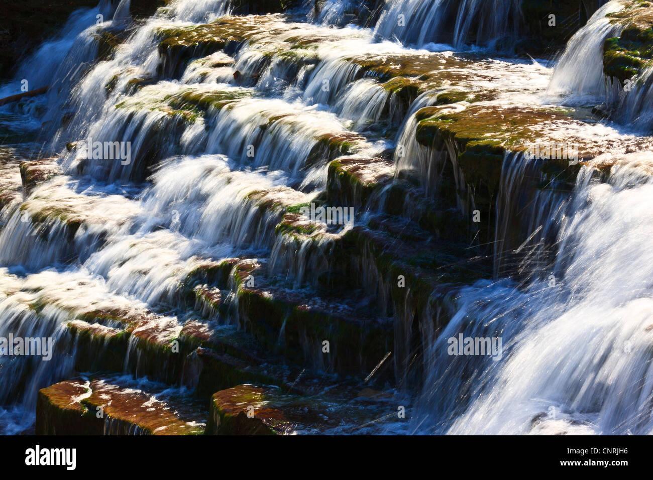 Cascata close up Immagini Stock