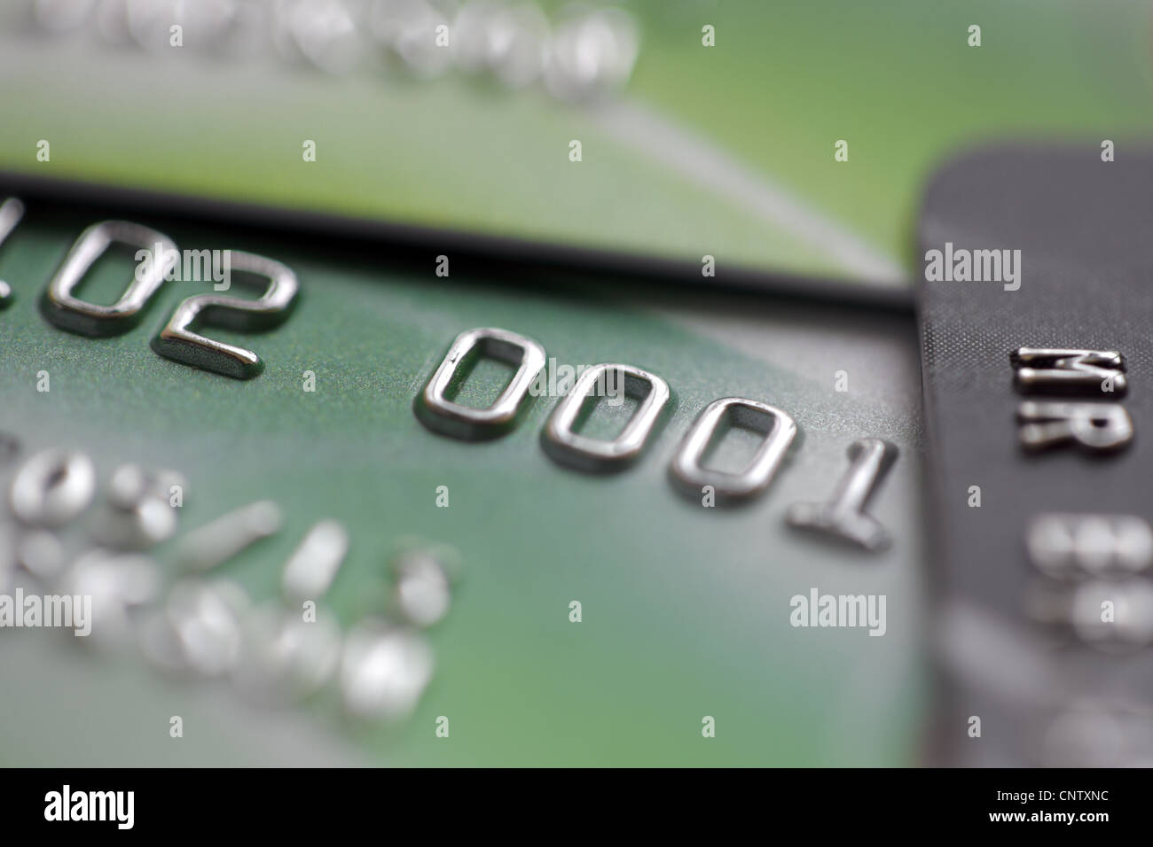Carte di credito Immagini Stock