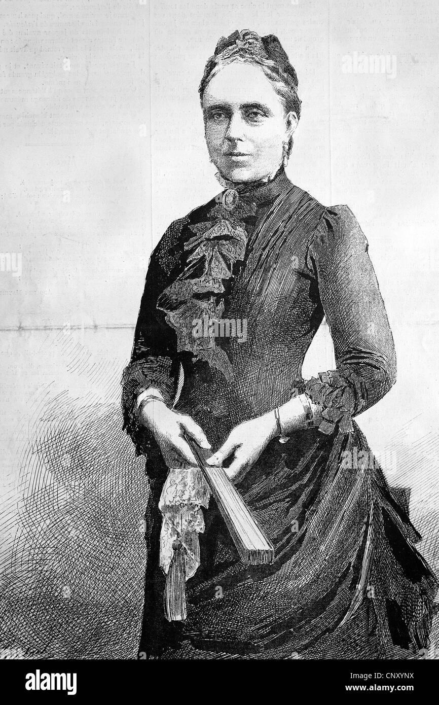 Victoria Adelaide Maria Louisa, Principessa di Gran Bretagna e Irlanda VA, 1840 - 1901, un British princess dalla Foto Stock