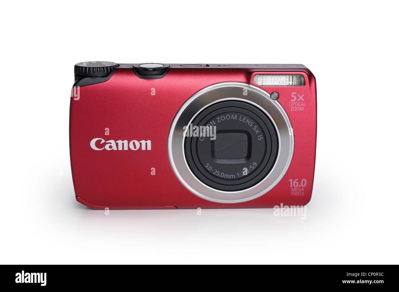 Fotocamera digitale, Punto e sparare Compact Immagini Stock
