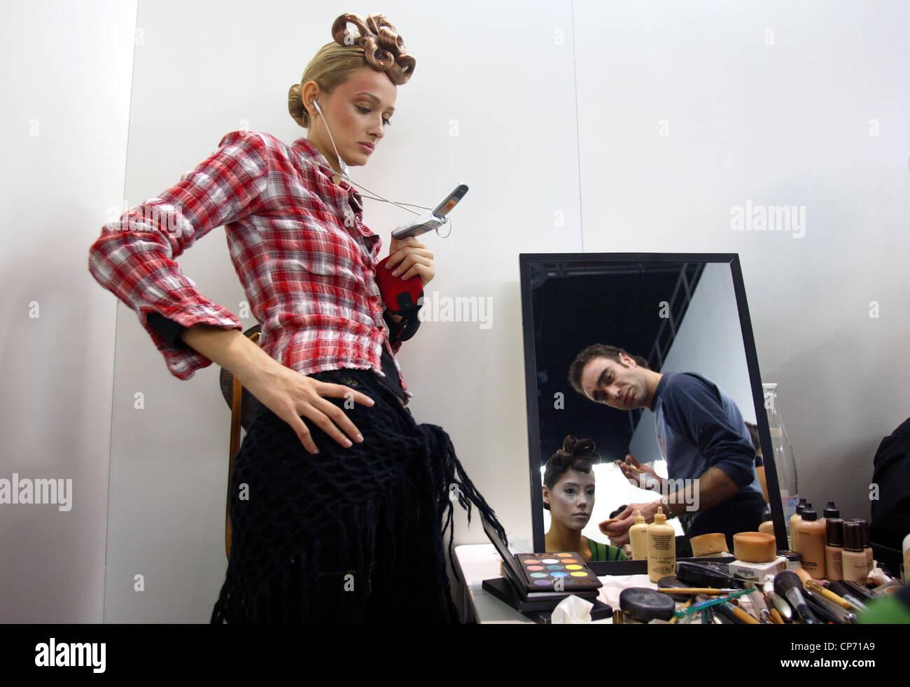 Fashion show CPD donna uomo, Duesseldorf, Germania Immagini Stock