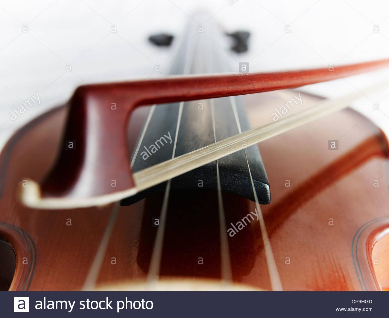 Bow,immagine a colori,dettaglio,entertainment,concentrarsi sul primo piano,full frame,orizzontale strumento,,basso Immagini Stock