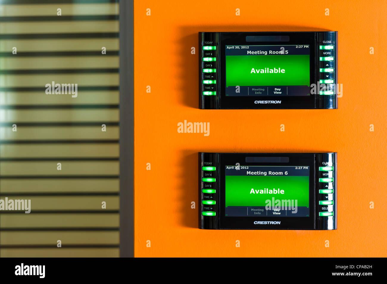 Sala riunioni Console Immagini Stock