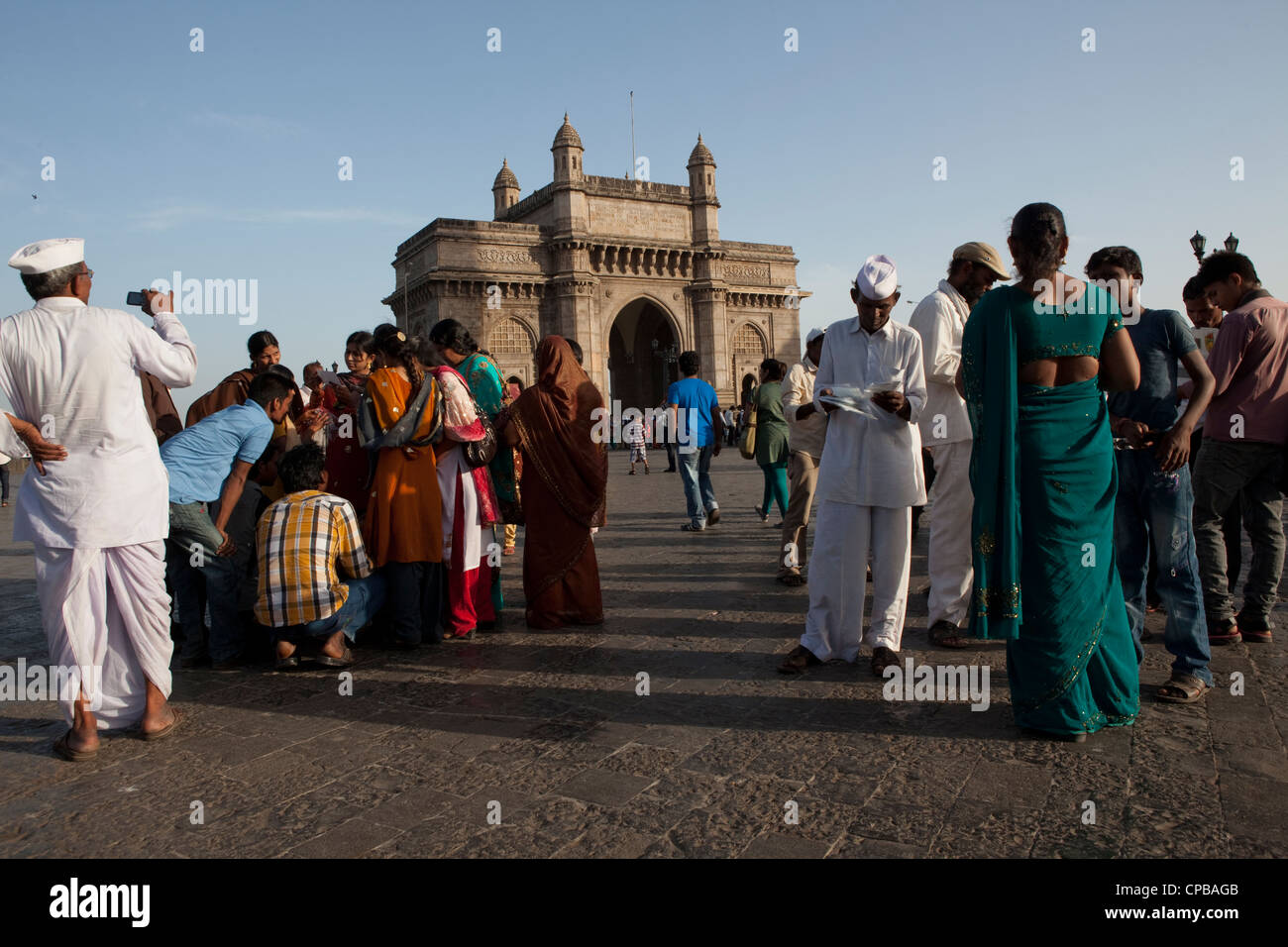 Gateway in India - Mumbai (Bombay) Immagini Stock