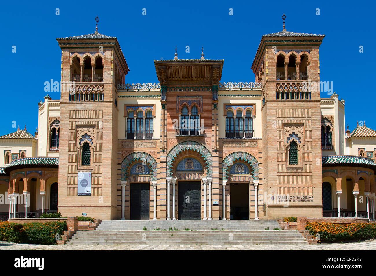Museo di arte popolare e folklore a Siviglia Immagini Stock