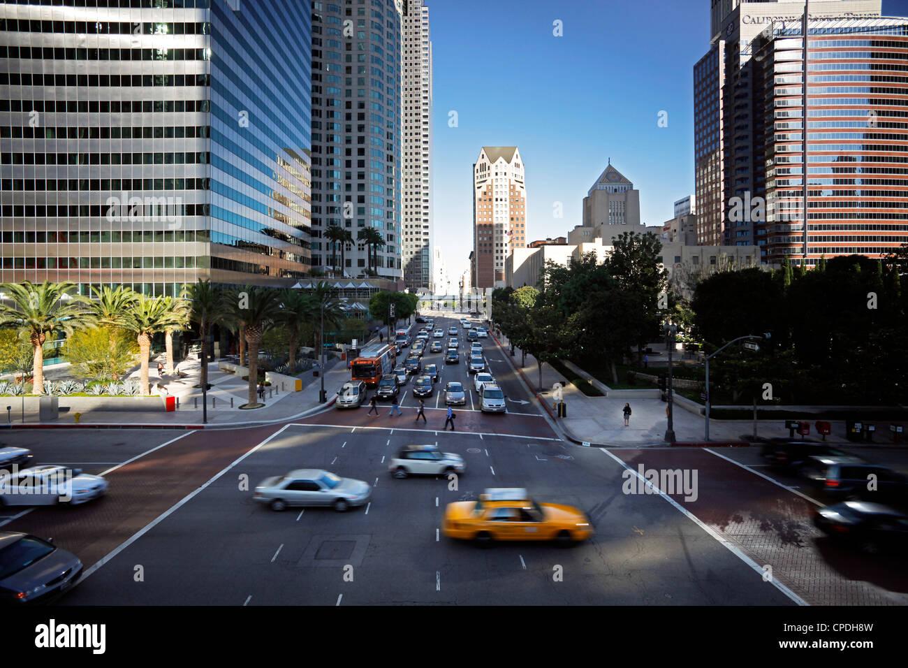 Il centro di Los Angeles, California, Stati Uniti d'America, America del Nord Immagini Stock