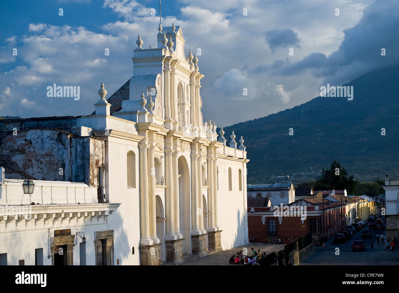 Cattedrale di San Jose, Sito Patrimonio Mondiale dell'UNESCO, Antigua, Guatemala, America Centrale Immagini Stock