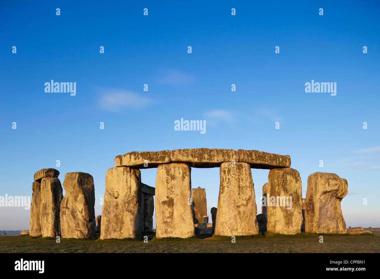 Inghilterra, Wiltshire, Stonehenge Foto Stock