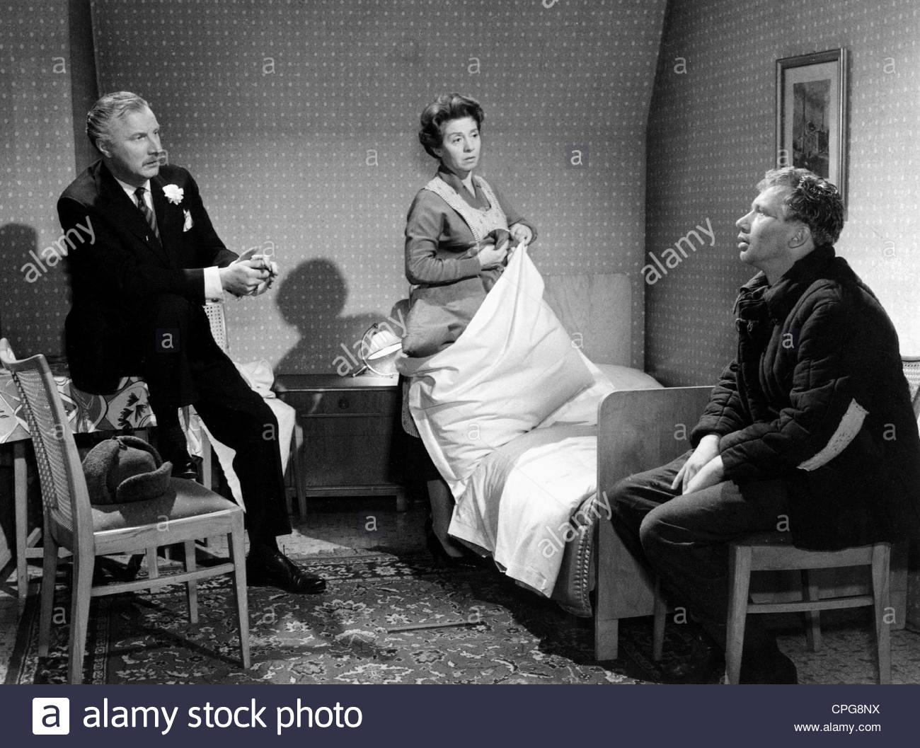 """Meysel Inge, 30.5.1910 - 10.7.2004, attrice tedesca, film scena, con Martin detenute e Heinz Reincke in """"Rosen Immagini Stock"""